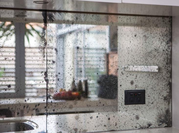 Antique Mirror Glass Splashbacks All Purpose Glazing