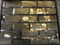 Glass tiles silver glass splash backs northern ireland glass kitchen glass bevelled stylish glass splash backs
