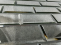 Quality glass tiles mirror glass beveled anique mirror effect glass shapes for splash backs in ireland