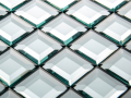 Decourative glass tile Wall glass Bevelled wall glass northern ireland Belfast glass