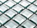 Decourative glass tile Wall glass Bevelled wall glass northern ireland Belfast glass