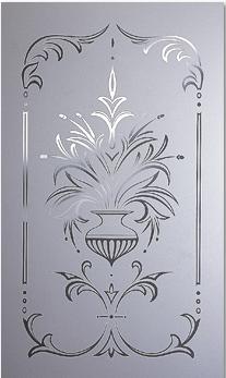 Decorative Door Glass All Purpose Glazing