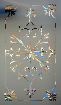 Decorative Door Glass All Purpose Glazing