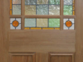Deourative coloured glass leaded light for domestic internal doors lead lines and coloured glass designed and manufactured in derry city and northern ireland.png