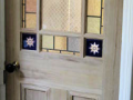 Deourative coloured textured glass leaded light for domestic internal doors lead lines and coloured glass designed and manufactured in derry city and northern ireland.png