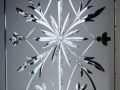 Diamond Cut decorative glass hand made set design or custom designs in glass in Derry City Northern Ireland.png
