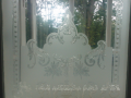 Traditional edwardian Sandblasted and acid etching in ireland by Art glass ireland.png