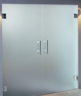 Superbe Frosted Sandblasted Obscure Glass Doors In Derry Custom Made Office Fit Out  Internal Glass Office Space