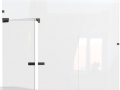 Custom made irih made Lobby Glass and Door  Decorative chrome frame in northern ireland.png