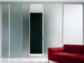 Derry Glass Buy Diret Glass Slidng glass door with obsucre glass manestifications Lobby Glass and Door  Decorative chrome frame in northern ireland.png