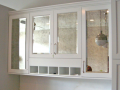 Glass furniture modern kitchen cabinets glass inlay antique glass ireland