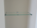 glass shelves Basic bathroom glass shelf glass toughen display Shelf custom made any size large glass shelves derry city northern ireland