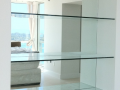 new design interir custom made glass interior design glass shelves modern glass derry city northern ireland