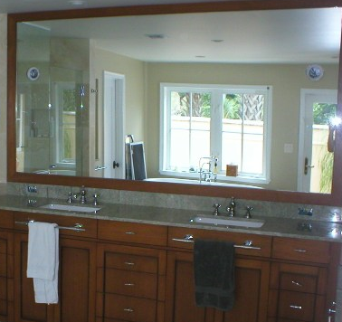 Bathroom Mirrors All Purpose Glazing