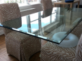Quality new toughen glass frameless table top glass made in ireland