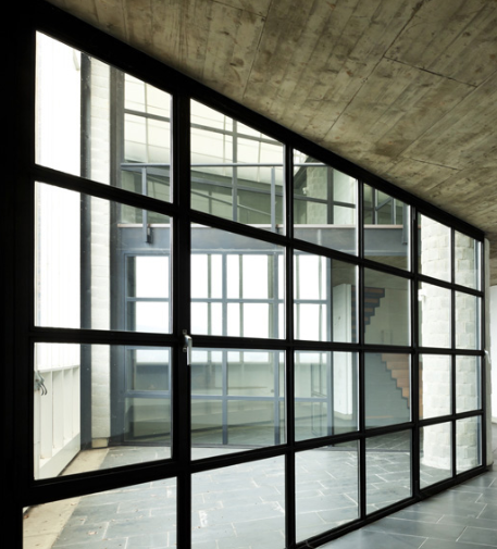 Glazing For Glass Aluminum Frame : Glass partitions all purpose glazing