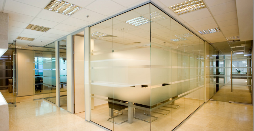 Glass partitions all purpose glazing for Office design northern ireland