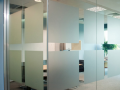 Internal Frameless Channel Glass Partitions with obscure sand blast design in Northern Ireland.png