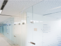 Internal Frameless Glass Partitions with obscure sand blast design in Northern Ireland.png
