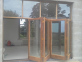 Pilkington Spacia-www.allpurposeglazing.com Contempory design thin frame bi-fold patio door Glazing in Ireland-