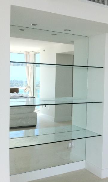 new design interir custom made glass interior design glass shelves modern  glass derry city northern ireland