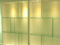 Interior design ireland glass shelves for shops design supply and install custom glass shop display derry city Northern ireland