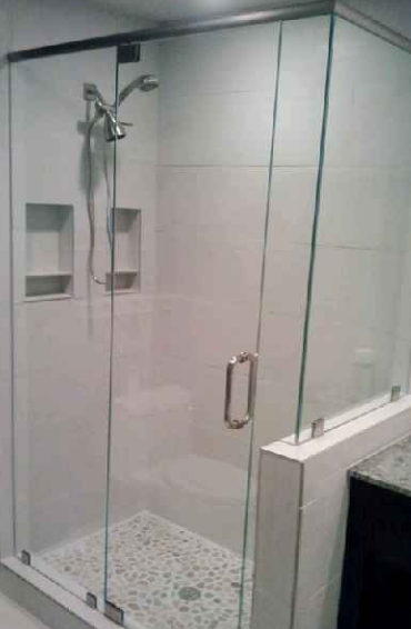 Shower Glass All Purpose Glazing - Bathroom shower glass replacement