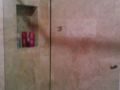 Simple slideing glass shower splash guard and shower door made to measure in northern ireland.png