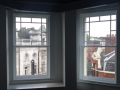 Bay window restore traditional wooden sash casement windows with modern secoundary glazing systems perfect home improvements belfast northern ireland improvements