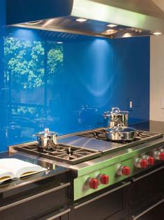 Kitchen glass Painted glass kitchen Splashbacks be hind the gas hob decourative glass in Northern ireland