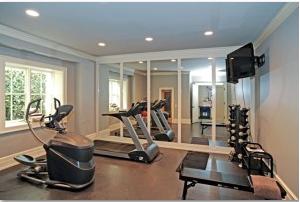 gym mirrors  all purpose glazing