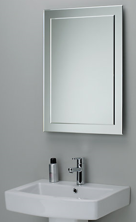 beveled glass mirrors bathroom decourative bathroom mirror beveled edge and decouative 17355
