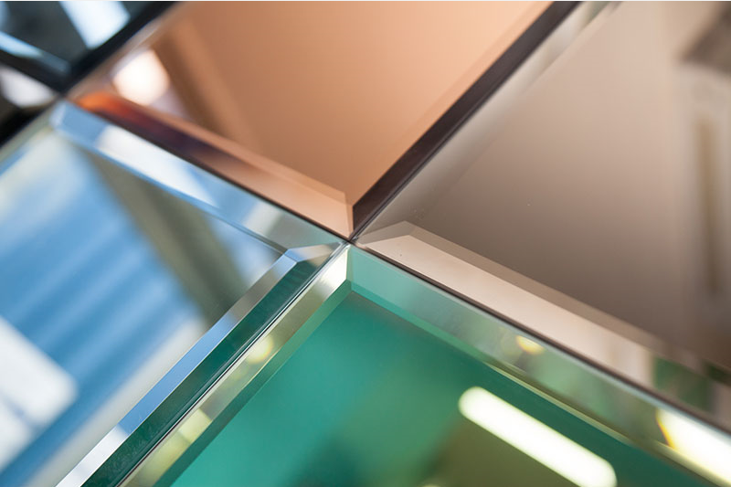 Decorative mirror all purpose glazing for Decorative window glass types